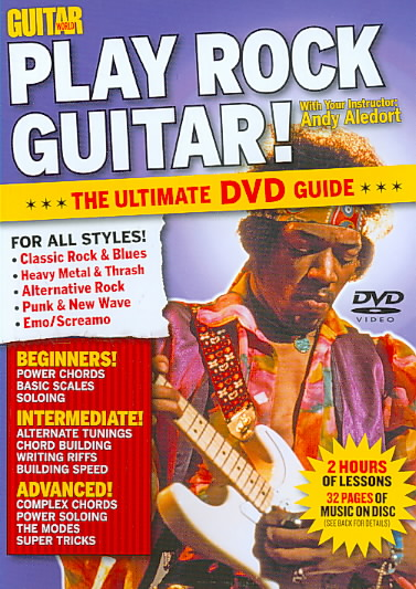 GUITAR WORLD:PLAY ROCK GUITAR BY GUITAR WORLD (DVD)